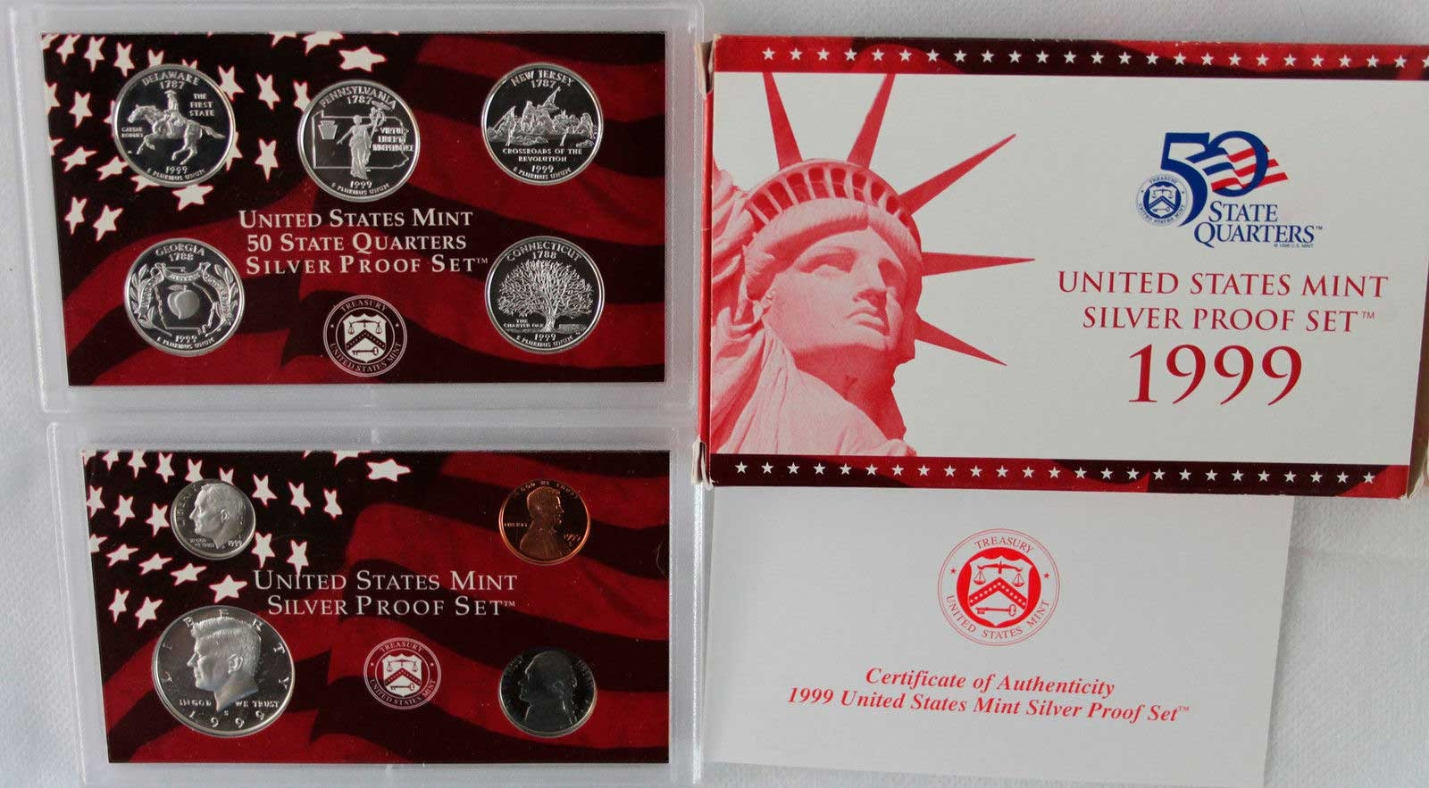 Quarter silver Proof Set