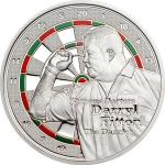 1 Dollar (Darryl Fitton - Silver Plated)