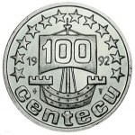 100 Ecu cent (Land of flowers)