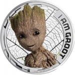 2 Dollars (Guardians of the Galaxy, I Am Groot - Silver)
