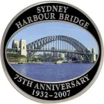 50 Cents (75th anniversary of the Sydney Harbor Bridge)