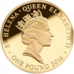 1 Pound (Empire Collection, Elizabeth I - Gold)