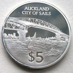 5 Dollars (Auckland City of Sails)
