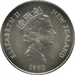 5 Dollars (40th Anniversary of the Coronation of Queen Elizabeth II)