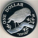 1 Dollar (Chatham Island Black Robin)
