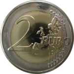 2 Euro (100th Anniversary of the First Flight from Malta)