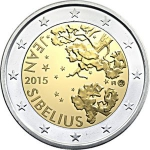 2 Euro (150th Anniversary of the Birth of Jean Sibelius)