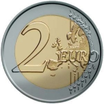 2 Euro (Proclamation of the Republic of Malta - 1974)
