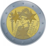 2 Euro (600th Anniversary Barbara Celje as queen of H. Roman