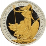 2 Pounds (Britannia, Moon at Night Coloured)