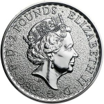2 Pounds (Britannia, Coloured)