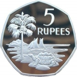 5 Rupees (Silver edition)