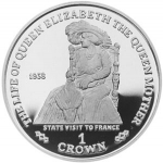 1 Crown (State Visit To France)