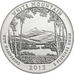 25 Cents / Quarter (White Mountain National Forest)