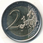 2 Euro (200 Years of the Kingdom)