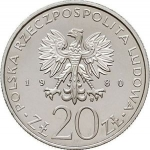 20 Złotych (PRÓBA) (50 years of the Gift of Pomerania)