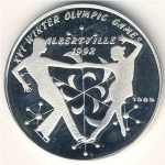 50 Kip (XVI Winter Olympic Games 1992 Albertville - Ice Dancing)
