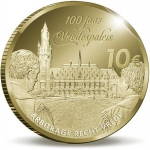 10 Euro (100th Aniversary of Peace Palace - Gold edition)