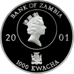 1,000 Kwacha (Lady Diana - Queen of the Hearts)