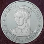 25 Dollars (Queen Mary I 1553 - 1558)