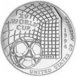 5,000 Shillings (XV World Cup Football 1994 United States)