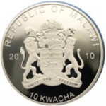 10 Kwacha (Golden Eagle - Silver edition)
