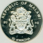 10 Kwacha (Blue Poison Arrow)