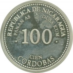 100 Córdobas (100 years of Cordoba currency)