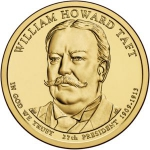 1 Dollar (27 th president William Howard Taft 1909-1913)