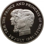 10 Rupees (Wedding of Prince Charles & Diana - Silver edit.)