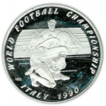 50 Kip (14th World Football Championship 1990 Italy)