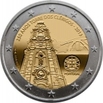 2 Euro (250 Years of the Tower of the Clerigos)