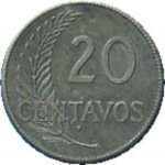 20 Centavos (San Francisco Mint)
