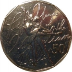 50 Cents (50 Years of Australian Ballet)