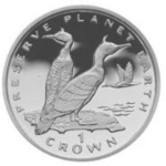 1 Crown (Preserve Planet Earth. Shag Birds)