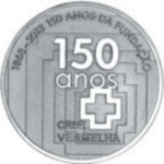 2.50 Euro (150 Years of the Foundation of the Red Cross)