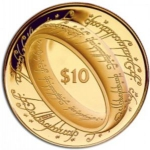 10 Dollars (Lord of the Rings - The ring)