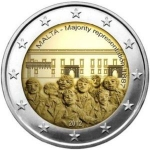 2 Euro (Constitutional History-Majority Representation 1887)