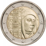2 Euro (750th Anniversary of Giottos Birth)