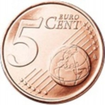 5 Euro Cent (Euro Stars redesigned)
