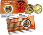"10 Euro Cent (2012 European Soccer -  Coloured orange ""10"")"
