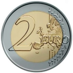 2 Euro (60 Years of Universal Declaration of Human Rights)