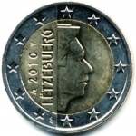 2 Euro (Relief Map of Europe)