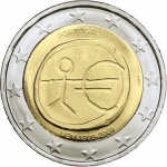 2 Euro (10th anniv of Economic Monetary Union)