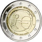 2 Euro (10th anniv. of Economic Monetary Union)