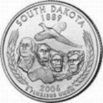 25 Cents / Quarter (South Dakota)