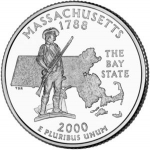 25 Cents / Quarter (Massachusetts)