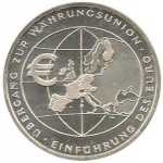 10 Euro (Introduction of Euro - F)