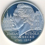 25 Ecu (200th Anniversary Birth of Johan Rudolf Thorbecke)