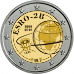 2 Euros (50th anniversary ESRO satellite launch)
